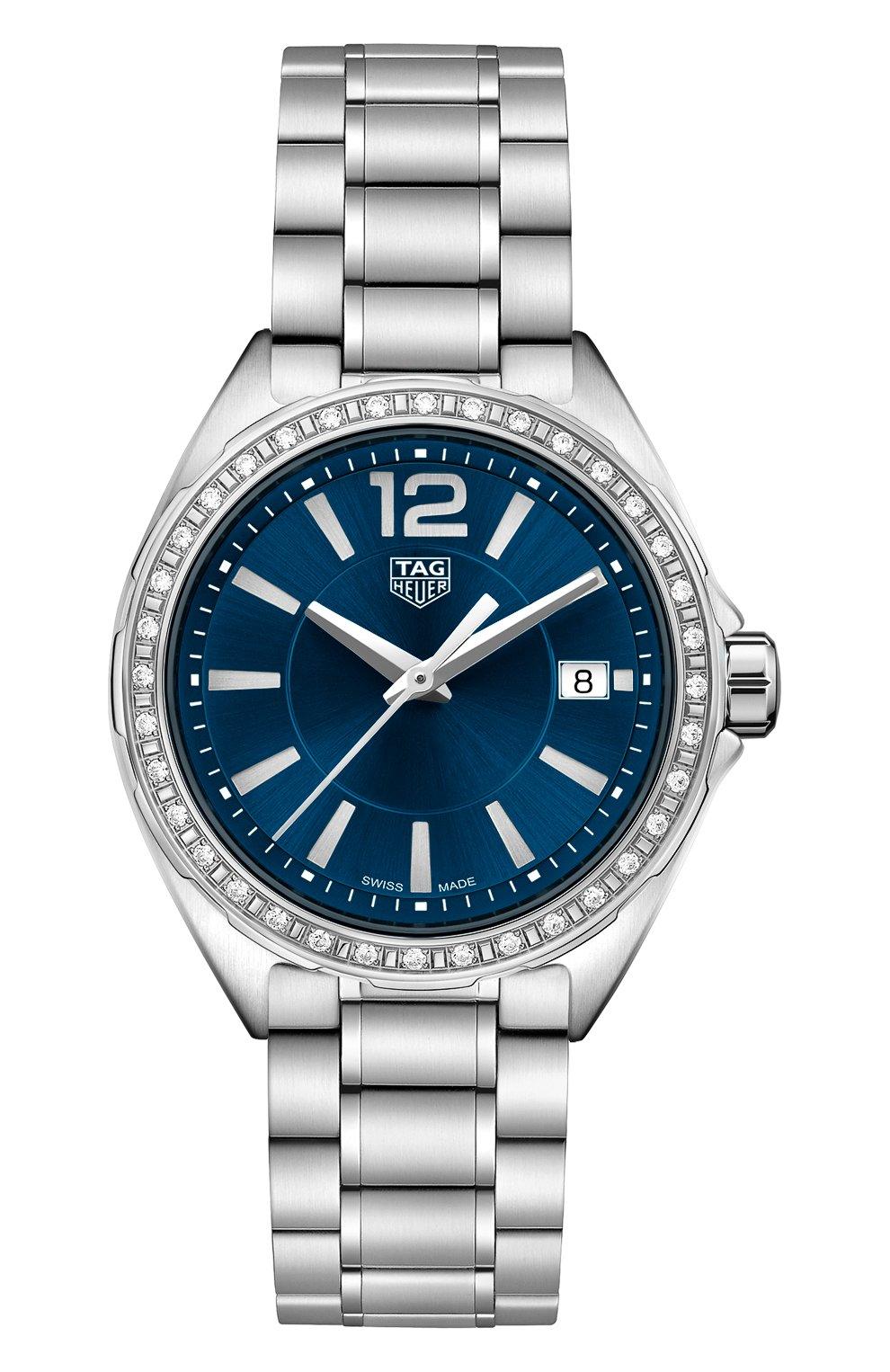 Женские часы formula 1 TAG HEUER синего цвета, арт. WBJ1316.BA0666 | Фото 1