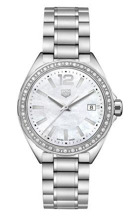 Женские часы formula 1 TAG HEUER перламутрового цвета, арт. WBJ131A.BA0666 | Фото 1