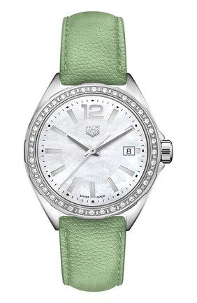 Женские часы TAG HEUER перламутрового цвета, арт. WBJ131A.FC8249 | Фото 1
