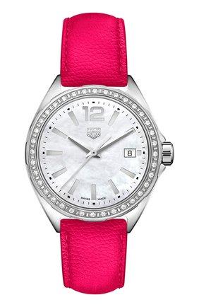 Женские часы TAG HEUER перламутрового цвета, арт. WBJ131A.FC8252 | Фото 1