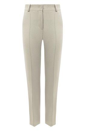 Женские кашемировые брюки LORO PIANA светло-зеленого цвета, арт. FAI8499 | Фото 1