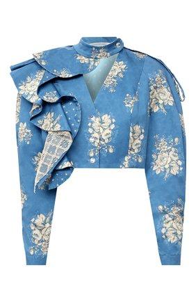Женский жакет ULYANA SERGEENKO синего цвета, арт. GBT002SS20P (0201т20) | Фото 1