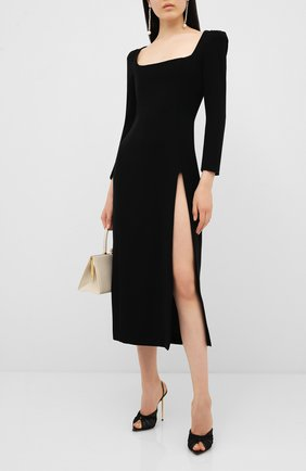 Женское платье ULYANA SERGEENKO черного цвета, арт. ABM002SS20P (0557т20) | Фото 2