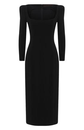 Женское платье ULYANA SERGEENKO черного цвета, арт. ABM002SS20P (0563т20) | Фото 1