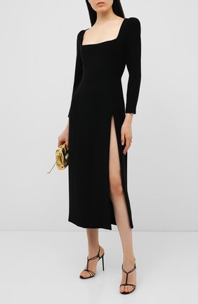 Женское платье ULYANA SERGEENKO черного цвета, арт. ABM002SS20P (0563т20) | Фото 2