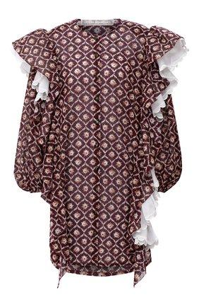Женское платье ULYANA SERGEENKO бордового цвета, арт. ABC008SS20P (0241т20) | Фото 1