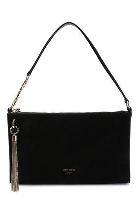 Женская сумка callie JIMMY CHOO черного цвета, арт. CALLIE MINI H0B0/SUE | Фото 1