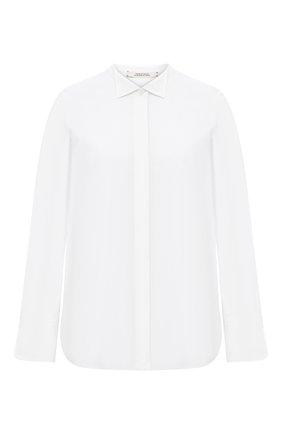 Женская хлопковая рубашка DOROTHEE SCHUMACHER белого цвета, арт. 848202/P0PLIN P0WER | Фото 1