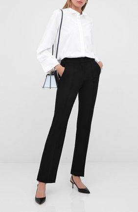 Женская хлопковая рубашка DOROTHEE SCHUMACHER белого цвета, арт. 848202/P0PLIN P0WER | Фото 2