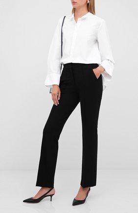Женские брюки из вискозы DOROTHEE SCHUMACHER черного цвета, арт. 848013/EM0TI0NAL ESSENCE | Фото 2