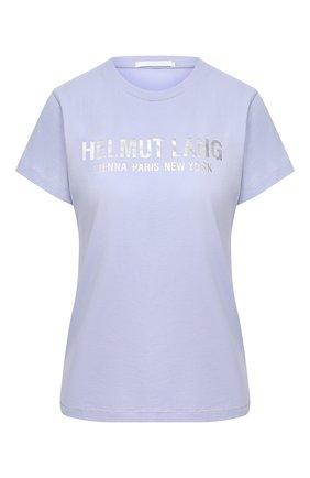 Женская футболка HELMUT LANG сиреневого цвета, арт. K04DW508 | Фото 1
