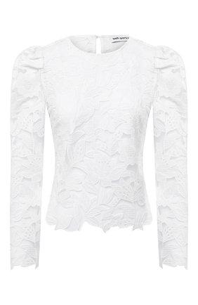 Женская блузка SELF-PORTRAIT белого цвета, арт. PF20-151 | Фото 1