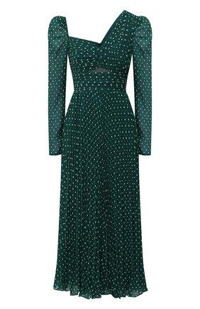 Женское платье SELF-PORTRAIT зеленого цвета, арт. PF20-009M | Фото 1