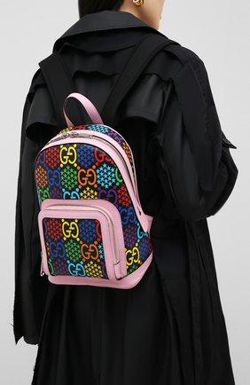 Женский рюкзак gucci psychedelic GUCCI розового цвета, арт. 601296/HPUEN | Фото 2