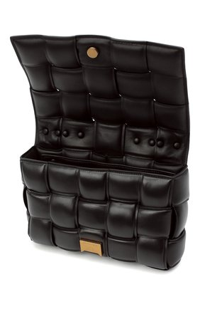 Женская сумка chain cassette BOTTEGA VENETA темно-коричневого цвета, арт. 631421/VBWZ0 | Фото 5