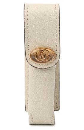 Женская косметичка porte-rouges GUCCI белого цвета, арт. 615998/DJ2QS | Фото 1
