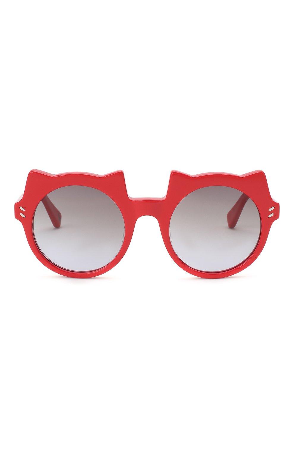 Детские солнцезащитные очки STELLA MCCARTNEY красного цвета, арт. SK0017 010 | Фото 2