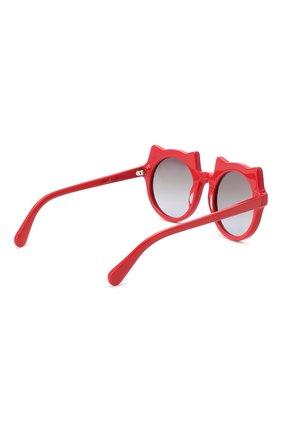 Детские солнцезащитные очки STELLA MCCARTNEY красного цвета, арт. SK0017 010 | Фото 3