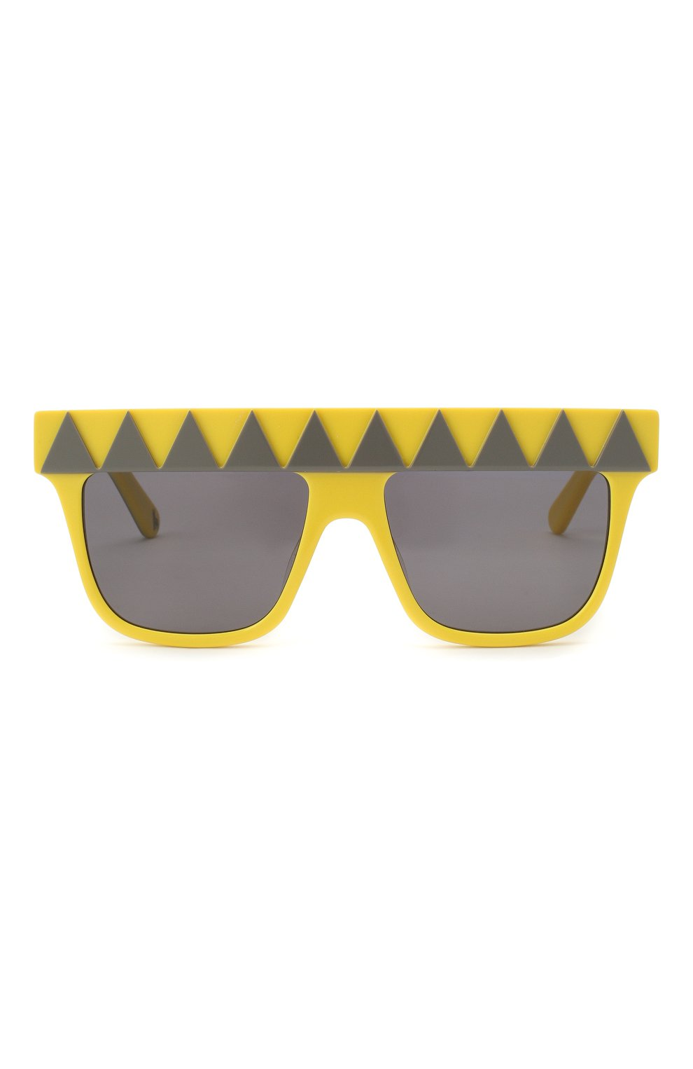 Детские солнцезащитные очки STELLA MCCARTNEY желтого цвета, арт. SK0049 002 | Фото 2