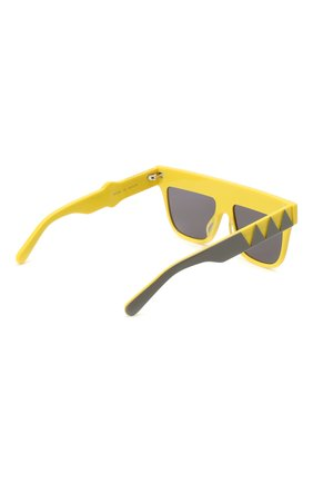 Детские солнцезащитные очки STELLA MCCARTNEY желтого цвета, арт. SK0049 002 | Фото 3