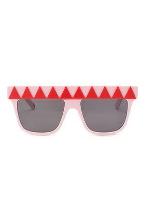 Детские солнцезащитные очки STELLA MCCARTNEY розового цвета, арт. SK0049 003   Фото 2