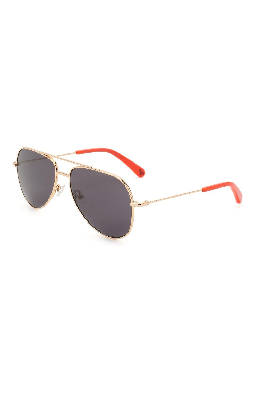 Детские солнцезащитные очки STELLA MCCARTNEY серого цвета, арт. SK0021 007 | Фото 1