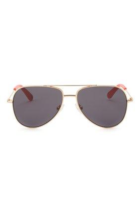 Детские солнцезащитные очки STELLA MCCARTNEY серого цвета, арт. SK0021 007 | Фото 2