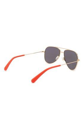 Детские солнцезащитные очки STELLA MCCARTNEY серого цвета, арт. SK0021 007 | Фото 3