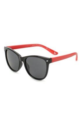 Детские солнцезащитные очки STELLA MCCARTNEY черного цвета, арт. SK0038 008   Фото 1