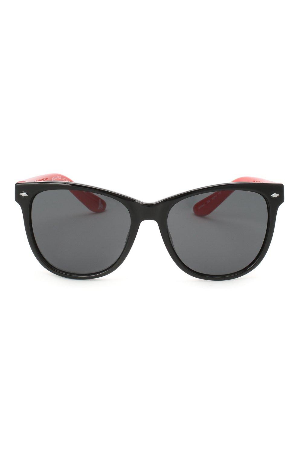 Детские солнцезащитные очки STELLA MCCARTNEY черного цвета, арт. SK0038 008   Фото 2