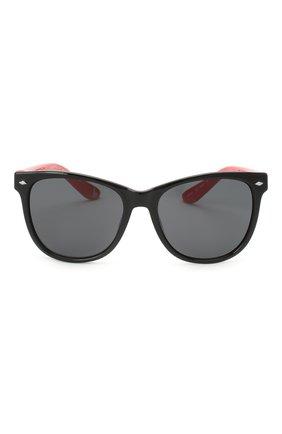Детские солнцезащитные очки STELLA MCCARTNEY черного цвета, арт. SK0038 008 | Фото 2