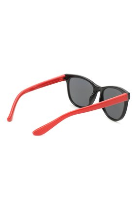 Детские солнцезащитные очки STELLA MCCARTNEY черного цвета, арт. SK0038 008   Фото 3