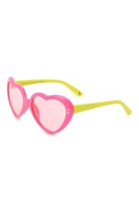 Детские солнцезащитные очки STELLA MCCARTNEY розового цвета, арт. SK0037 009   Фото 1