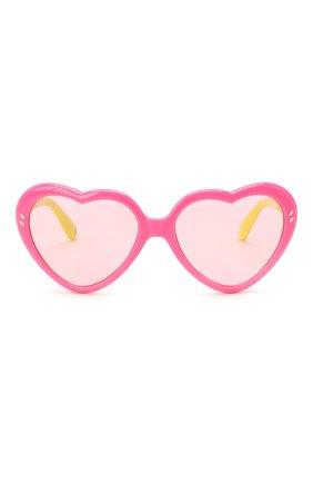 Детские солнцезащитные очки STELLA MCCARTNEY розового цвета, арт. SK0037 009 | Фото 2