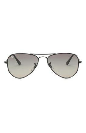 Детские солнцезащитные очки RAY-BAN темно-серого цвета, арт. 9506S-220/11 | Фото 2