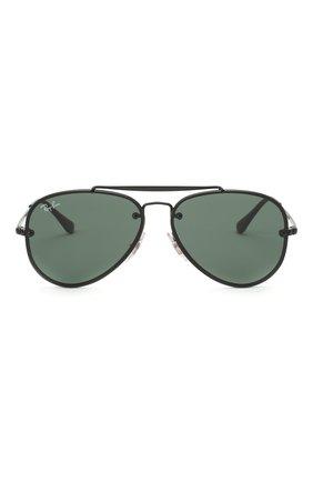 Детские солнцезащитные очки RAY-BAN черного цвета, арт. 9548SN-220/71 | Фото 2
