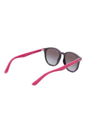 Детские солнцезащитные очки RAY-BAN фиолетового цвета, арт. 9070S-70218G | Фото 3