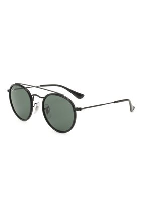 Детские солнцезащитные очки RAY-BAN черного цвета, арт. 9647S-201/71 | Фото 1