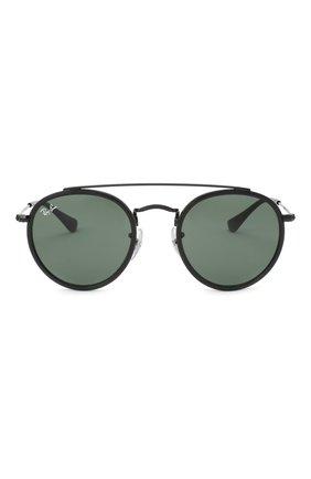 Детские солнцезащитные очки RAY-BAN черного цвета, арт. 9647S-201/71 | Фото 2