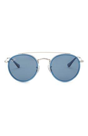 Детские солнцезащитные очки RAY-BAN голубого цвета, арт. 9647S-212/80 | Фото 2
