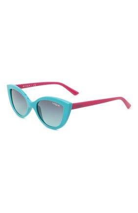 Детские солнцезащитные очки VOGUE бирюзового цвета, арт. 2003-27744S | Фото 1