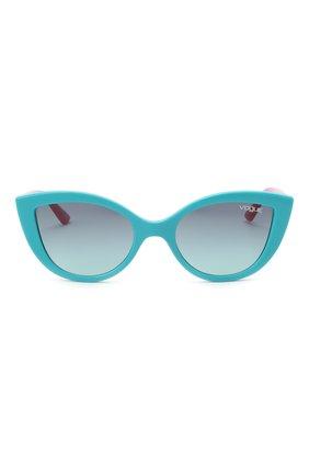 Детские солнцезащитные очки VOGUE бирюзового цвета, арт. 2003-27744S | Фото 2