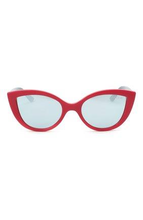 Детские солнцезащитные очки VOGUE красного цвета, арт. 2003-27756J | Фото 2