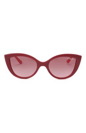 Детские солнцезащитные очки VOGUE бордового цвета, арт. 2003-27768D | Фото 2