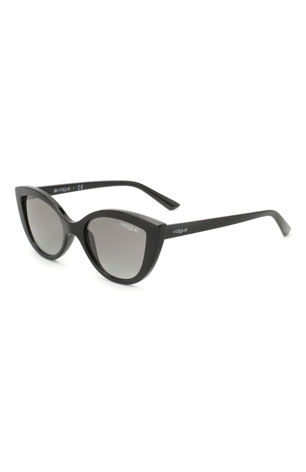 Детские солнцезащитные очки VOGUE черного цвета, арт. 2003-W44/11 | Фото 1