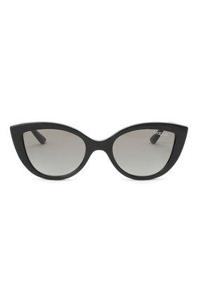 Детские солнцезащитные очки VOGUE черного цвета, арт. 2003-W44/11 | Фото 2