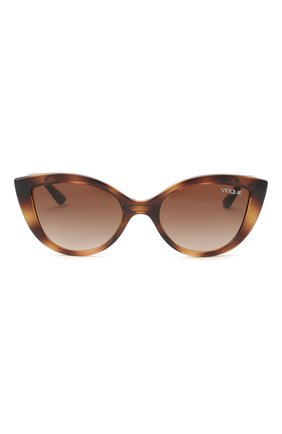 Детские солнцезащитные очки VOGUE коричневого цвета, арт. 2003-W65613 | Фото 2