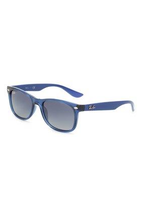 Детские солнцезащитные очки RAY-BAN синего цвета, арт. 9052S-70624L | Фото 1
