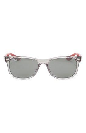 Детские солнцезащитные очки RAY-BAN серого цвета, арт. 9052S-70636G | Фото 2