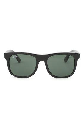 Детские солнцезащитные очки RAY-BAN черного цвета, арт. 9069S-100/71 | Фото 2